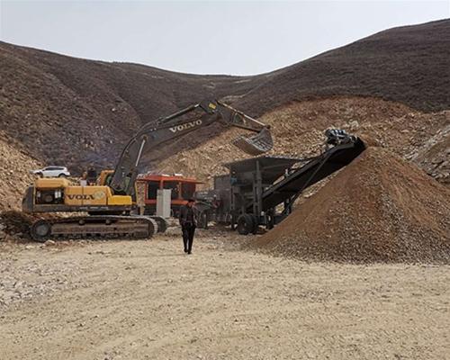 石岭关移动制砂机